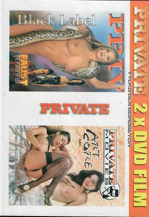 Private 2xDVD film /Art core,Faust/ DVD slim